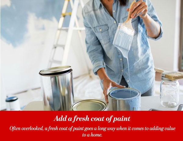 Add a fresh coat of paint