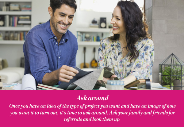 Ask around