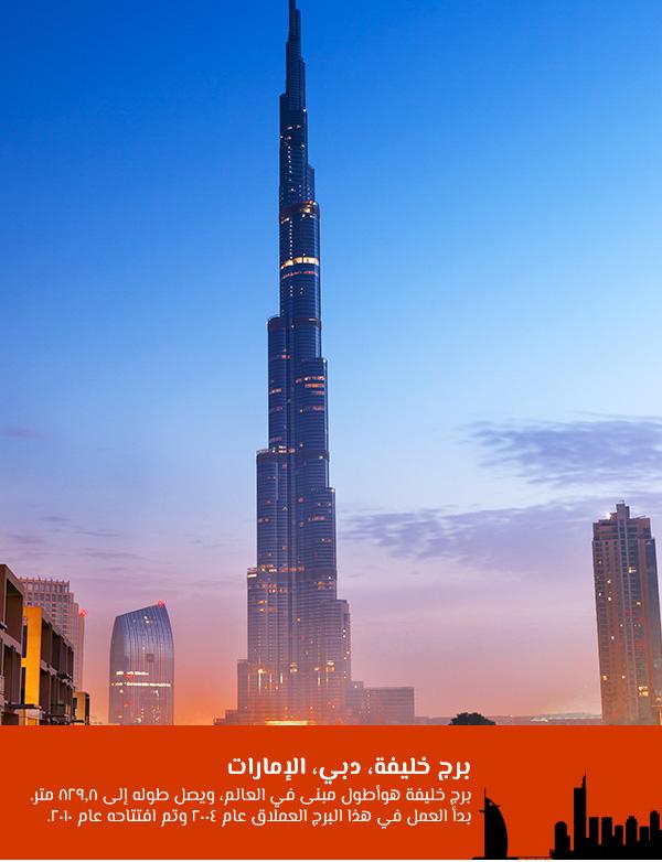 برج خليفة، دبي، الإمارات