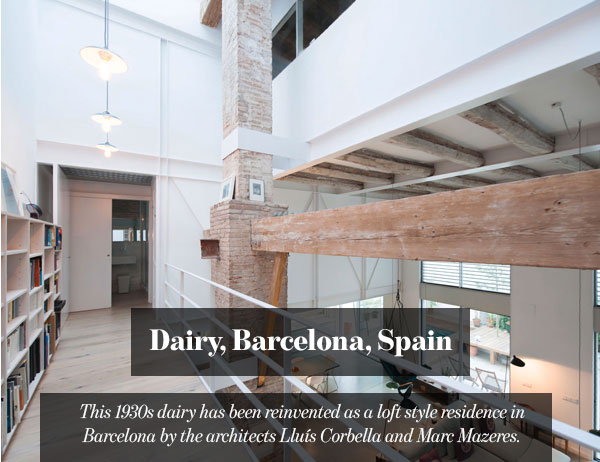 Dairy, Barcelona, Spain