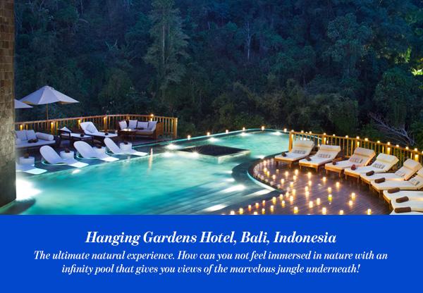 Hanging Gardens Hotel, Bali, Indonesia