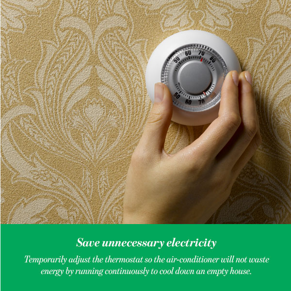 Save unnecessary electricity