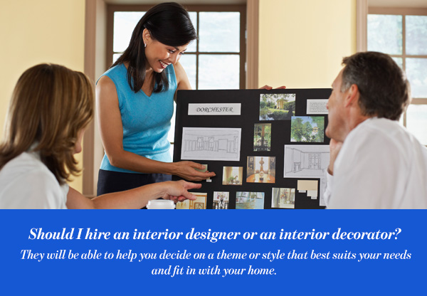 The Differences Between An Interior Designer And Interior Decorator
