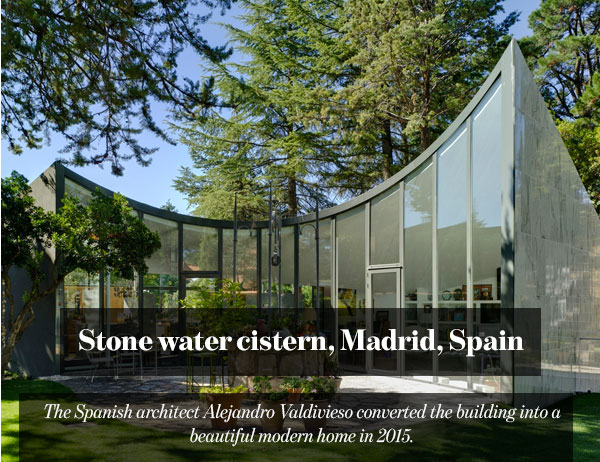 Stone water cistern, Madrid, Spain