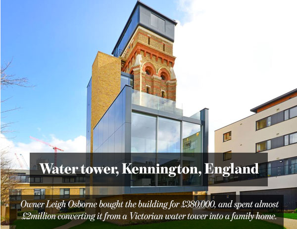Water tower, Kennington, England