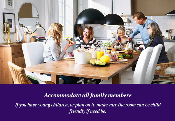 Accommodate all family members
