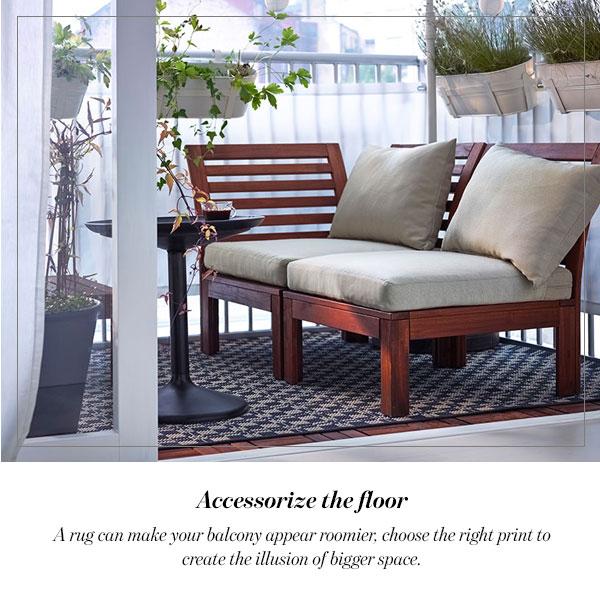 Accessorize the floor