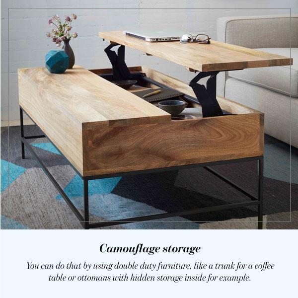 Camouflage storage