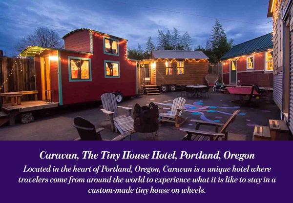 Caravan, The Tiny House Hotel, Portland, Oregon