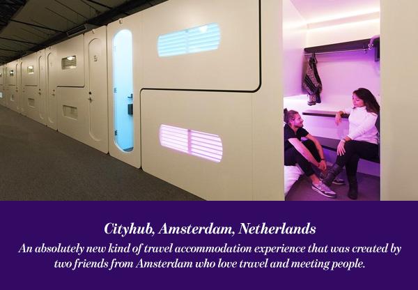 Cityhub, Amsterdam, Netherlands