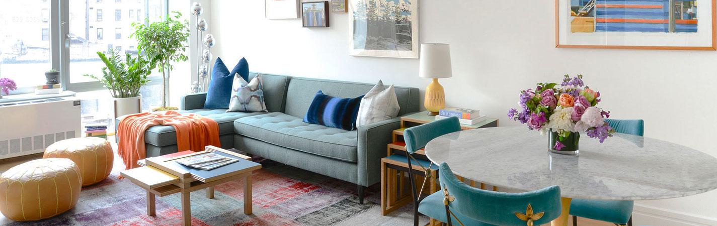 e1e8f66bf كيف تصمم ديكور منزل مستأجر بدون أن تقوم بتغيير أي شيء في المنزل!