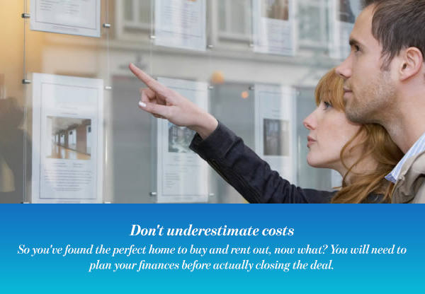 Don't underestimate costs