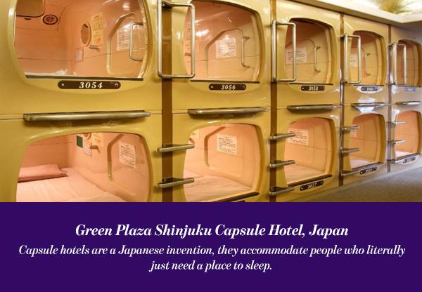 Green Plaza ShinjukuCapsule Hotel, Japan