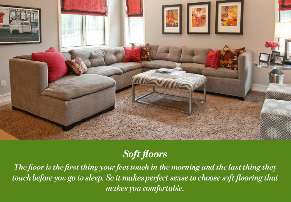 Soft floors