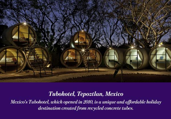 Tubohotel, Tepoztlan, Mexico