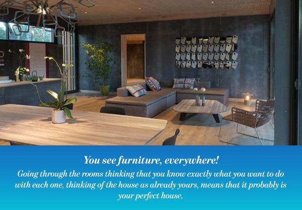 You see furniture, everywhere!