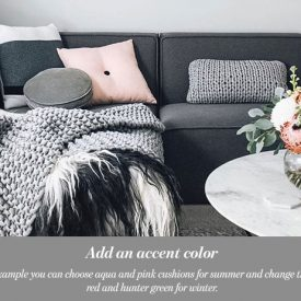 How to Decorate With a Black And White Pallet