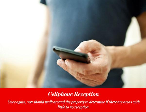 Cellphone Reception