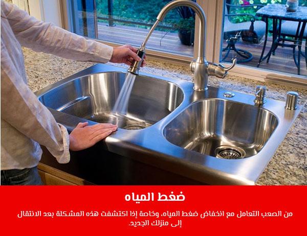 ضغط المياه