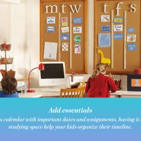 Back To School: Decorate The Best Studying Space For Your Kids