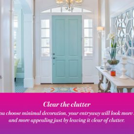 Make Your House More Inviting By Decorating The Best Entryway