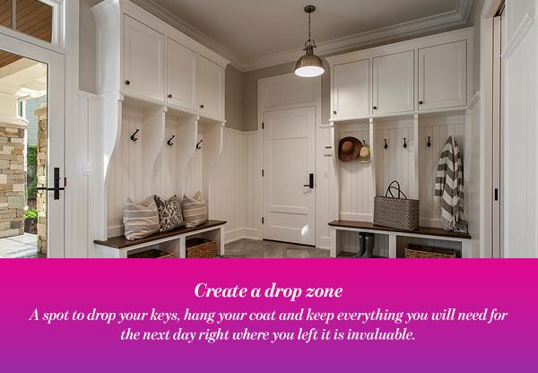 Create a drop zone