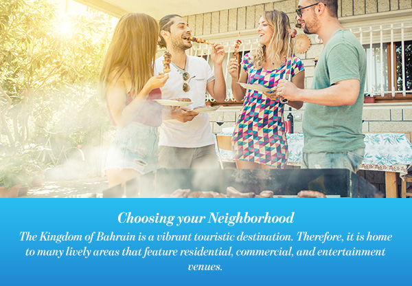 Choosing your Neighborhood