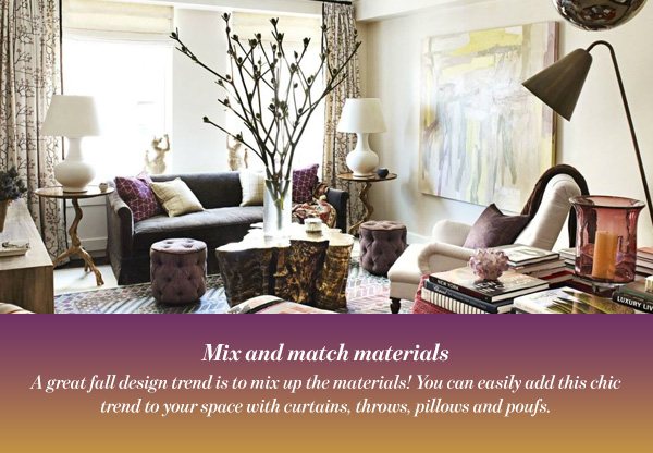 Mix and match materials