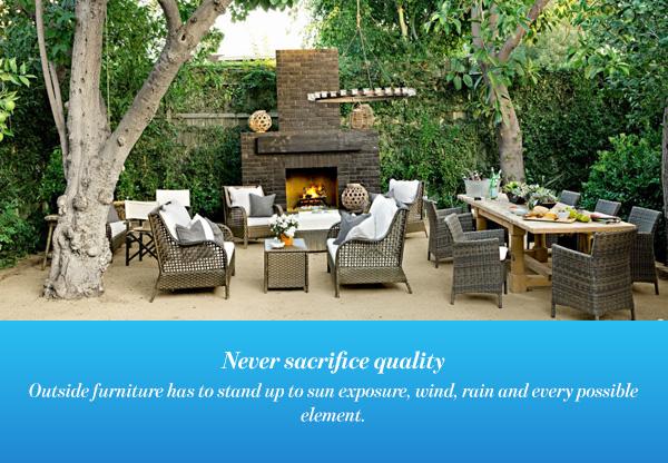 Never sacrifice quality