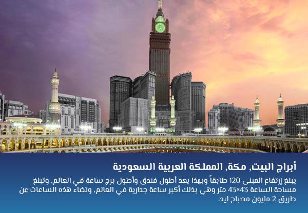 أبراج البيت, مكة, المملكة العربية السعودية