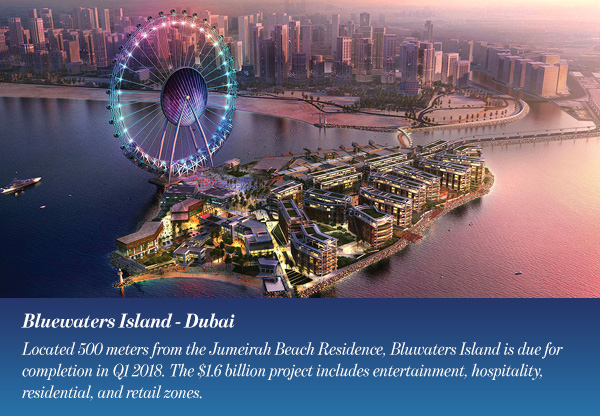 Bluewaters Island - Dubai