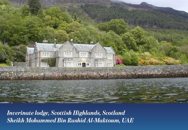 Inverinate lodge, Scottish Highlands, Scotland
