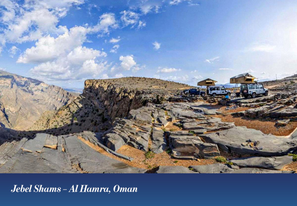 Jebel Shams – Al Hamra, Oman