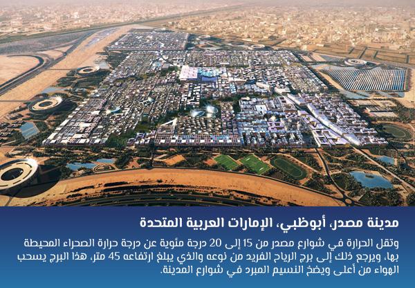مدينة مصدر، أبوظبي، الإمارات العربية المتحدة