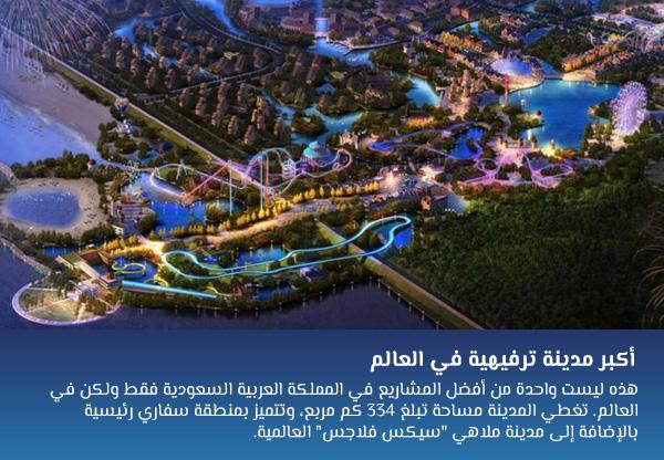 أكبر مدينة ترفيهية في العالم