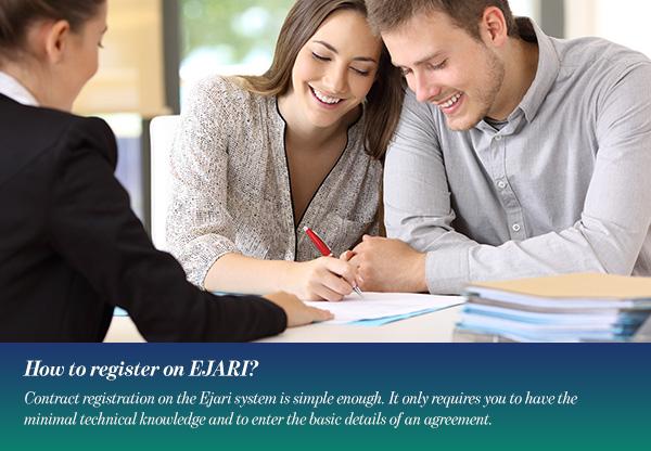 How to register on EJARI?