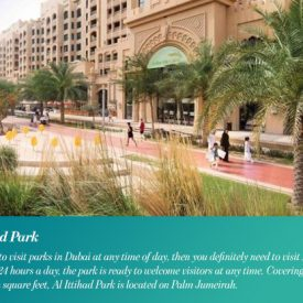 Discover Serenity at the Best Parks in Dubai