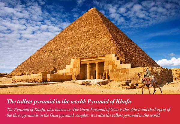 Arabic Record Numbers: Pyramid of Khufu