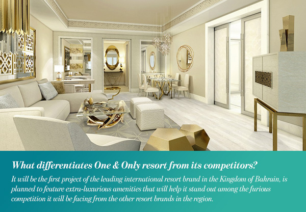 What differentiates One & Only resort from its competitors