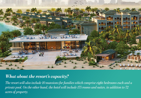 What about the resort's capacity?