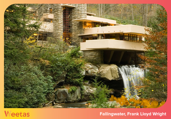 Fallingwater, Frank Lloyd Wright. Fallingwater