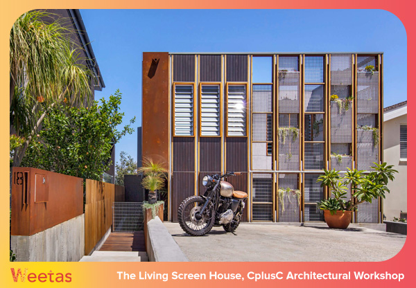 The Living Screen House