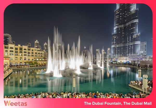 The Dubai Fountain, The Dubai Mall