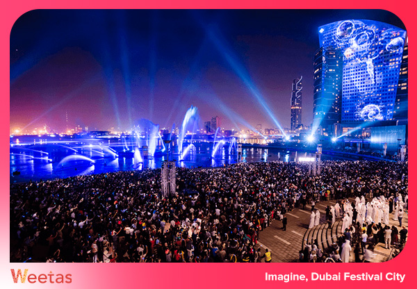 Imagine, Dubai Festival City