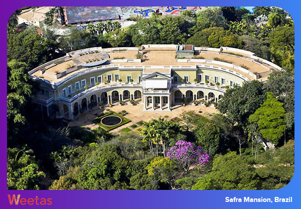 Safra Mansion, Brazil