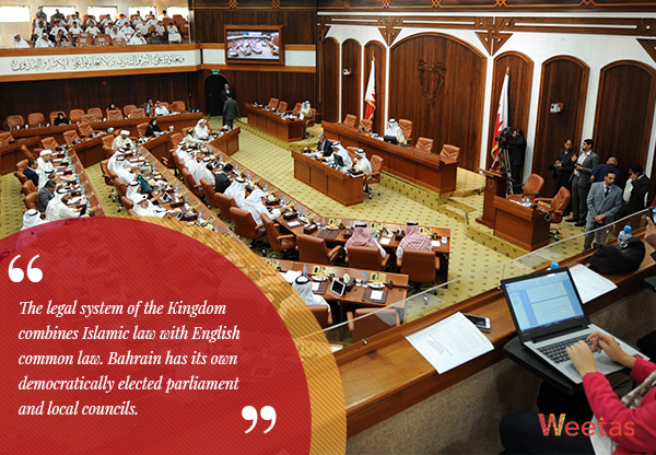 The Bahraini law and democracy