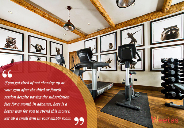 3) Home Gym: