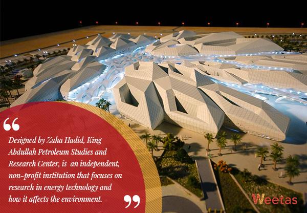 King Abdullah Petroleum Studies and Research Center, Riyadh, KSA