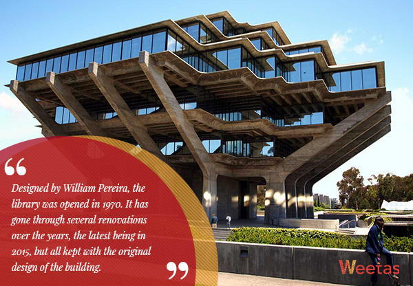 Geisel Library, California
