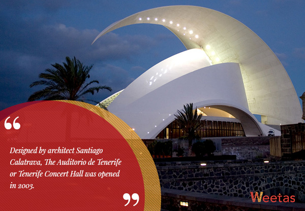 Tenerife Concert Hall, Canary Islands